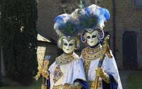 Картинка украшения, перья, карнавал, маски, карнавальные костюмы