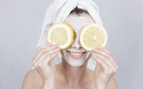 Картинка smiles, lemons, masks, treatments