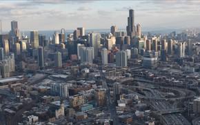 Картинка city, USA, Chicago