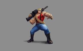 Картинка Gun, Art, Bullets, Пули, Duke Nukem, Сигара, Weapon, Дюк Нюкем, Minimalism, Персонаж, Cigar, Character, Game …