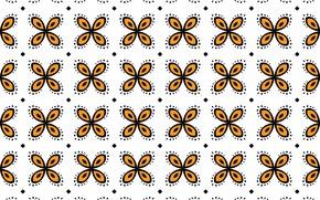 Картинка белый, оранжевый, фон, узор, текстура