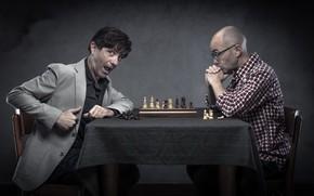 Картинка люди, игра, шахматы