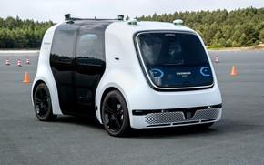 Картинка Volkswagen, hi-tech, autonomous car, Sedric Concept