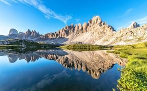 Обои лето, горы, Доломитовые Альпы, Dolomite Alps