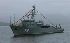 Картинка морской, тральщик, МТ-265, проект 266мэ