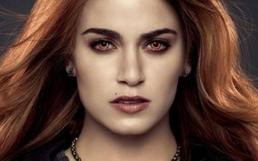 Картинка взгляд, девушка, портрет, актриса, блондинка, вампир, Сумерки Сага Рассвет, The Twilight Saga Breaking Dawn - …