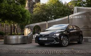 Картинка Toyota, Hybrid, Sports, Touring, Corolla, 2019