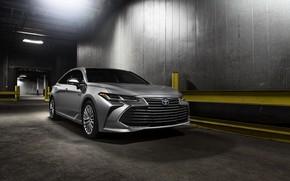 Картинка свет, Toyota, помещение, 2018, Avalon, Limited Hybrid