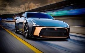 Картинка Concept, Nissan, 2018, ItalDesign, GT-R50