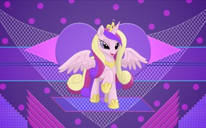 Картинка абстракция, фон, пони, My Little Pony