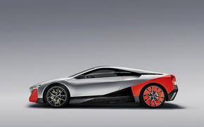 Картинка фон, купе, BMW, профиль, 2019, Vision M NEXT Concept