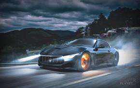 Картинка Maserati, Авто, Машина, Car, Автомобиль, Art, Vehicles, Alfieri, Transport, Transport & Vehicles, by Burak Yörür, …