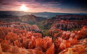Картинка горы, скалы, вид, США, Гранд-Каньон, рельеф, каньоны