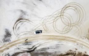 Картинка aero, DJI, drone photo, hyundai tucson