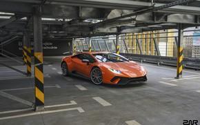 Картинка Авто, Lamborghini, Машина, Оранжевый, Суперкар, Рендеринг, Спорткар, Vehicles, Huracan, Lamborghini Huracan, Transport, Transport & Vehicles, …
