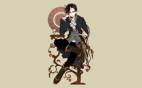 Картинка демон, Hoozuki no Reitetsu, Хозуки, Хладнокровный Хозуки
