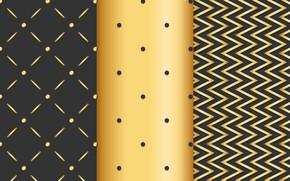 Картинка линии, фон, текстура, golden, background, lines, dots