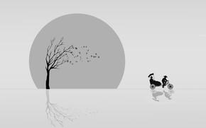 Картинка китай, вектор, рикша