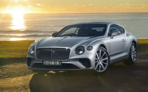 Картинка Bentley, Continental, 2018, Bentley Continental, GT 2018, Bentley Continental GT 2018