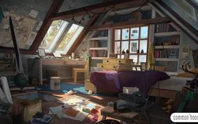 Картинка беспорядок, помещение, room, увлечение, Common'hood 2