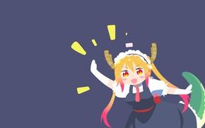 Картинка Chibi, Kobayashi-San Chi no Maid Dragon, Дракон-Горничная Кобаяши, Tohru