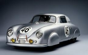 Картинка Race, Retro, Porsche 356, Cooupe