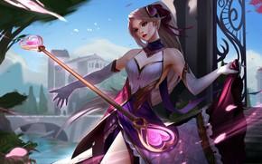 Картинка девушка, League of Legends, Лига Легенд