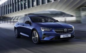 Картинка синий, Insignia, Opel, седан, Vauxhall, 2020, Insignia Grand Sport