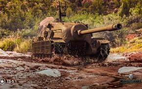 Картинка грязь, WoT, World of Tanks, Wargaming, TS-5