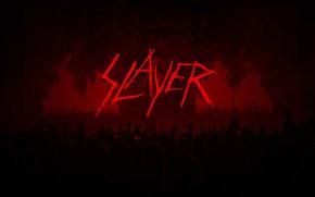 Картинка metal, logo, band, slayer, thrash metal, concert