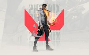 Картинка Phoenix, компьютерная игра, Valorant