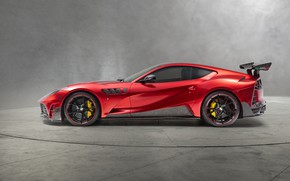 Картинка вид сбоку, 2018, Mansory, Superfast, Stallone, Ferrari 812