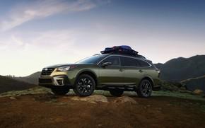 Картинка горы, Subaru, универсал, Outback, AWD, 2020
