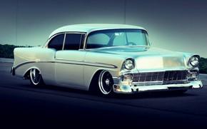 Картинка Chevrolet, Bel Air, Tuning, Silver