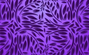 Картинка листья, абстракция, фон