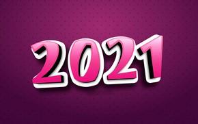 Картинка фон, цифры, Новый год, 2021