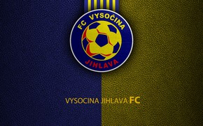 Картинка wallpaper, sport, logo, football, Vysocina Jihlava