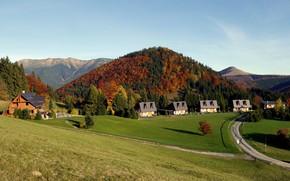 Картинка осень, пейзаж, Словакия