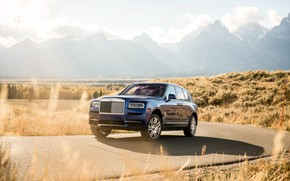 Картинка Rolls-Royce, 2018, Cullinan