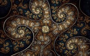 Картинка завитки, фрактал, fractaldesire, by fractaldesire
