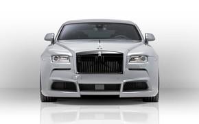 Картинка купе, Rolls-Royce Wraith, автомобиль представительского класса, SPOFEC, Overdose, Ширококузовной тюнинг