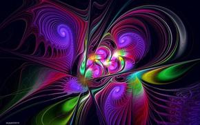 Картинка фон, узор, цвет, яркие цвета