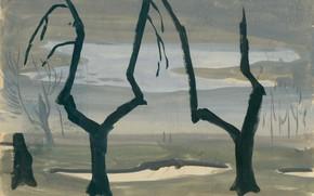 Картинка Untitled, Charles Ephraim Burchfield, Study for Evening Star 01