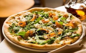 Картинка еда, рыба, сыр, пицца
