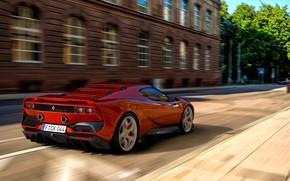 Картинка Машина, Ferrari, Red, Car, Render, Суперкар, Рендеринг, Supercar, Спорткар, Sportcar, Nancorocks, Transport & Vehicles, Zoki …