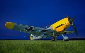 Картинка Bf 109, Messerschmitt, Ме-109, Luftwaffe, Вторая Мировая Война, Люфтваффе, Messerschmitt Bf.109E