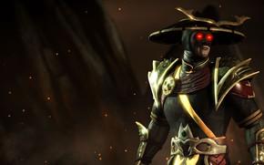 Картинка god of thunder, Mortal Kombat X, dark Raiden