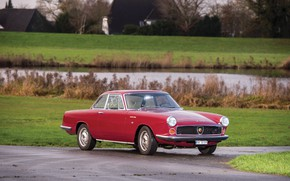Картинка Бампер, Фары, Fiat, Хром, 1959, Classic car, Abarth, Sports car, Fiat Abarth, Fiat Abarth 2200 …