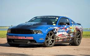 Картинка Ford, Ford Mustang, Форд Мустанг, Muscle Car
