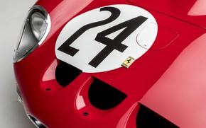 Картинка Фары, Classic, Хром, 1963, Classic car, 250, Ferrari 250 GTO, Gran Turismo, 250 GTO, s/n …